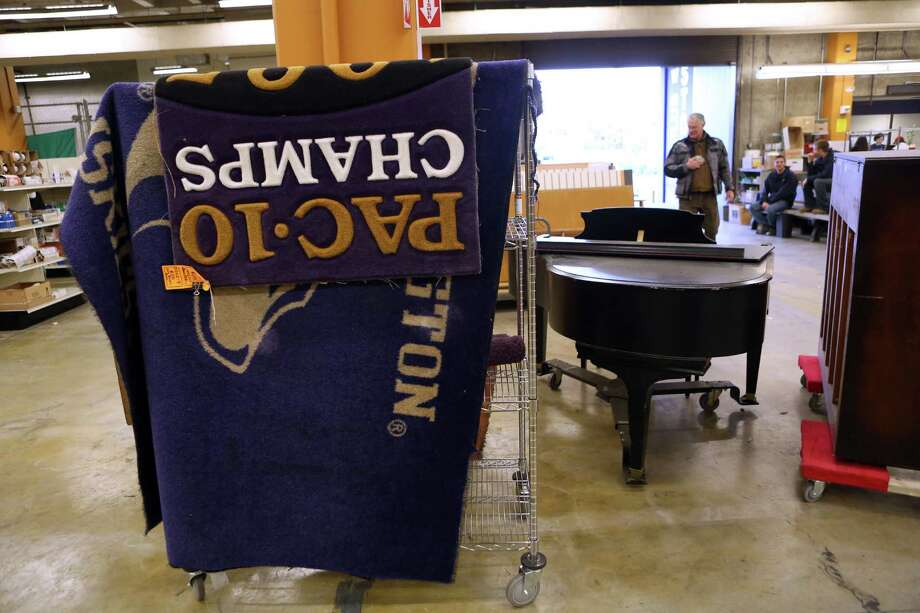 Items are shown for sale at the University of Washington Surplus Store on Tuesday, March 5, 2013. The store sells items no longer being used by the university, often at rock bottom prices. Photo: JOSHUA TRUJILLO / SEATTLEPI.COM