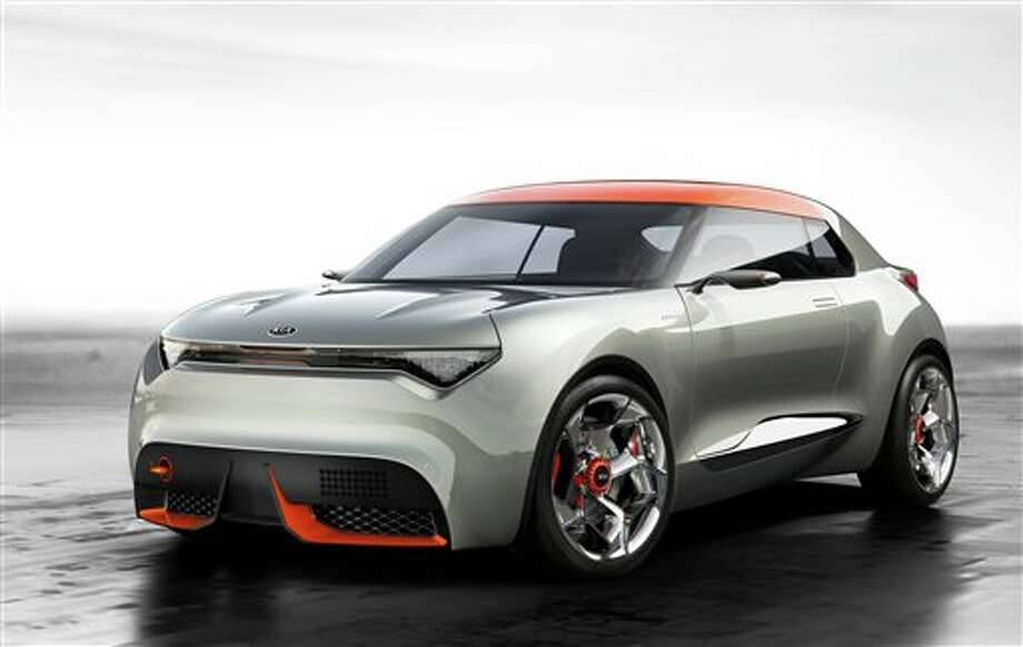 This undated image made available by Kia Motors Corp shows Kia's new concept car, Provo. The car is designed to provoke comment. But to many across Ireland, the name sounds too much like a celebration of terrorism.(AP Photo/Kia Motors Corp.)