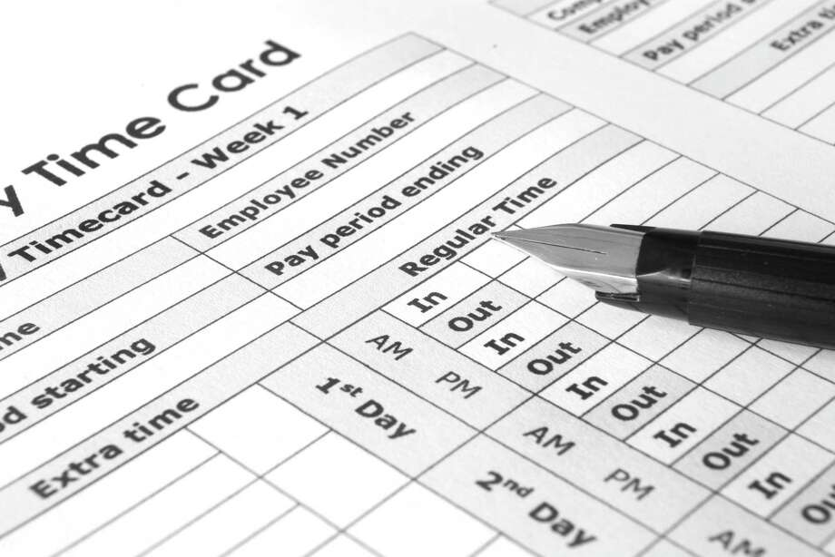 Biweekly Time Card Photo: Igor Dimovski, Courtesy Of GHG / iStockphoto