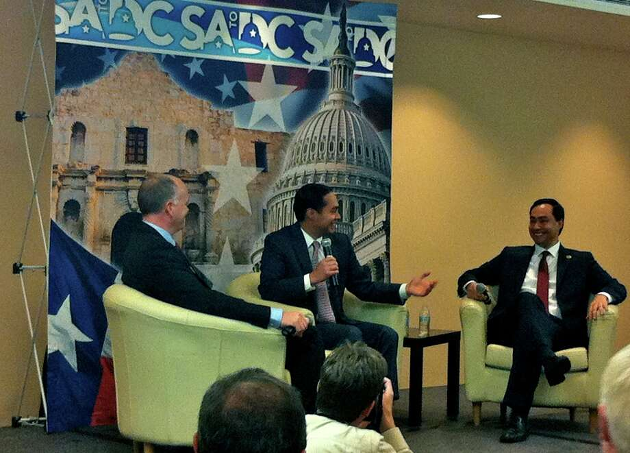 Ron Fournier, Mayor Julian Castro, Rep. Joaquin Castro