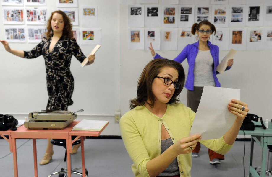 First run-through of The Single Girls Guide, a new musical getting its world premiere at Capital Rep on Wednesday Feb. 20, 2013 in Albany, N.Y. .(Michael P. Farrell/Times Union) Photo: Michael P. Farrell, Albany Times Union / 00021191A