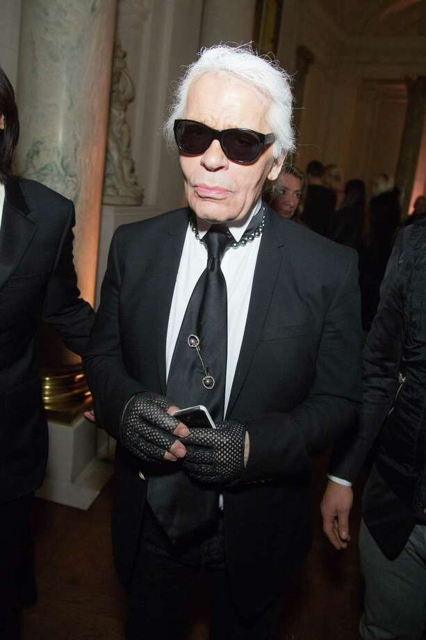 Totally Karl Lagerfeld. Photo: Victor Boyko, Getty Images / 2013 Victor Boyko