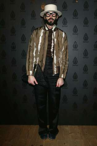 Totally normal: Manos Samartzis attends Dondup Fashion Event at Venue Teatro Parenti in Milan. Photo: Vittorio Zunino Celotto, Getty Images / 2013 Getty Images