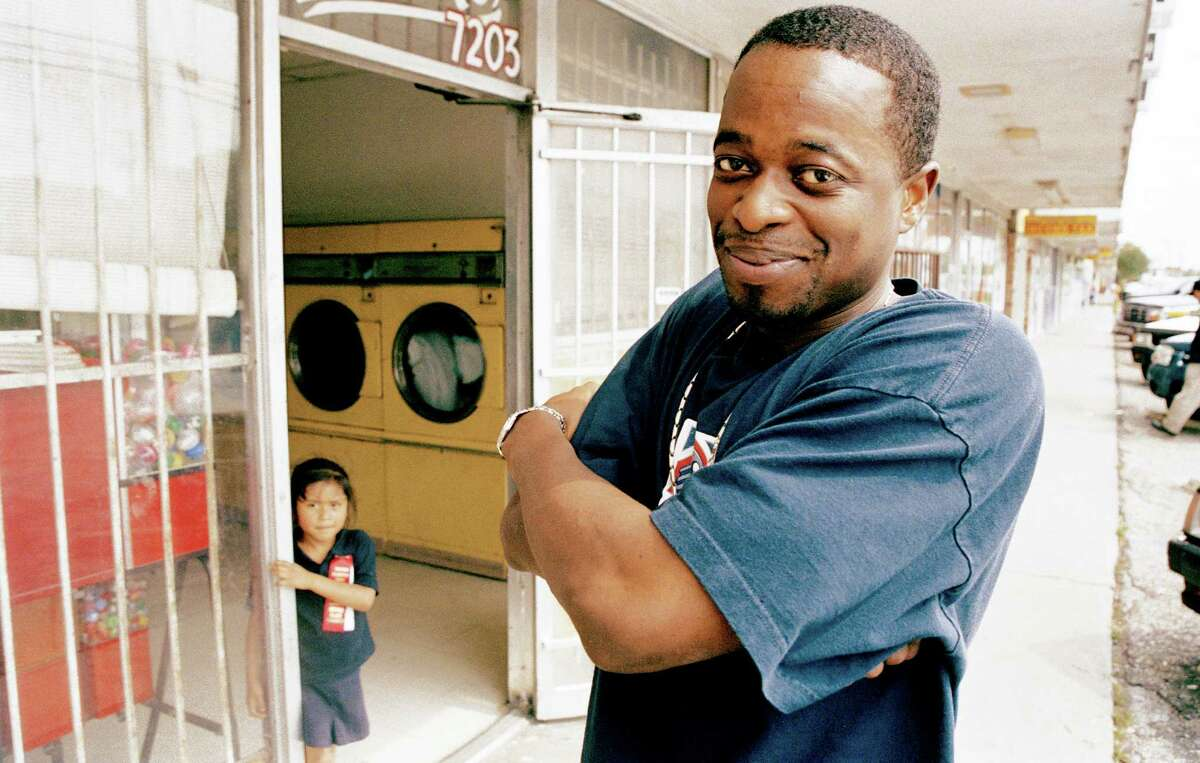Houston rapper Devin the Dude is shown in a photo by Peter Beste from 2005.