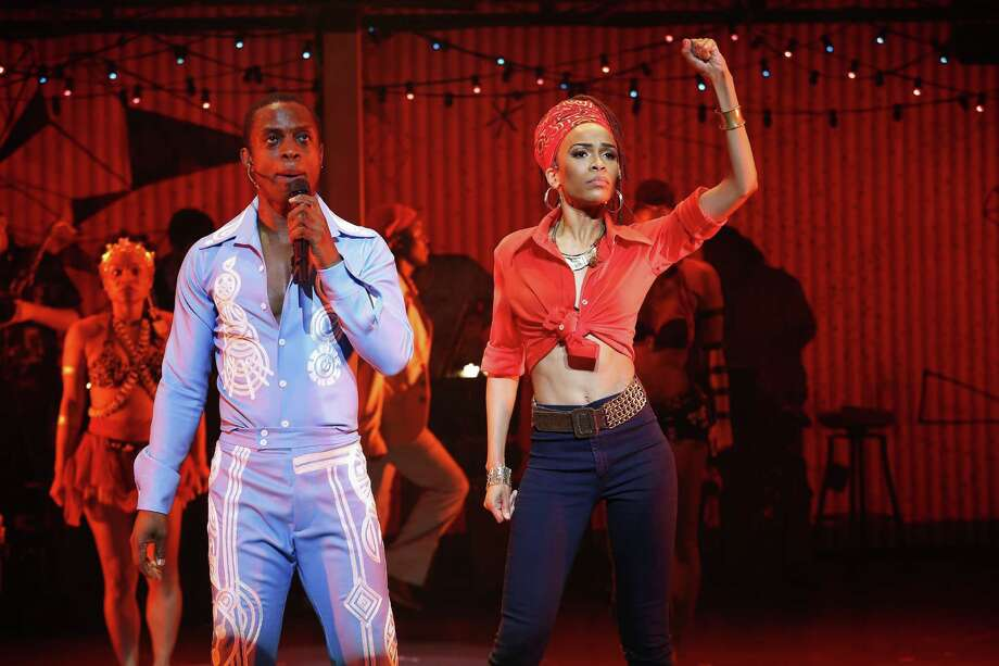 "Michelle Williams, fresh from her Destiny's Child reunion, stars in ""Fela!"" at 8 p.m. Friday, 2 and 8 p.m. Saturday at Proctors in Schenectady. Click here for more information. (Photo by Carol Rosegg)"