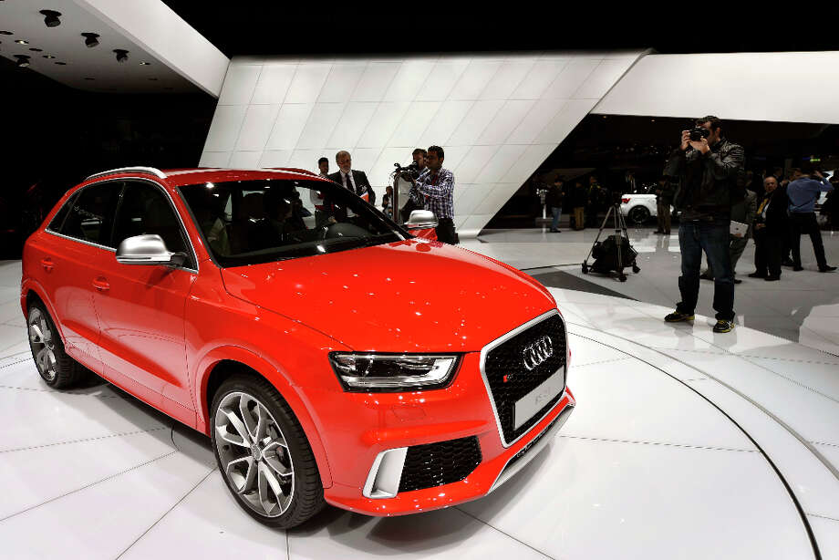 The new Audi RS Q3 is shown during the press day at the 83rd Geneva International Motor Show in Geneva, Switzerland, Tuesday, March 5, 2013. The Motor Show will open its gates to the public from 7th to 17th March presenting more than 260 exhibitors and more than 130 world and European premieres. (AP Photo/Keystone, Martial Trezzini) Photo: MARTIAL TREZZINI, Associated Press / Keystone