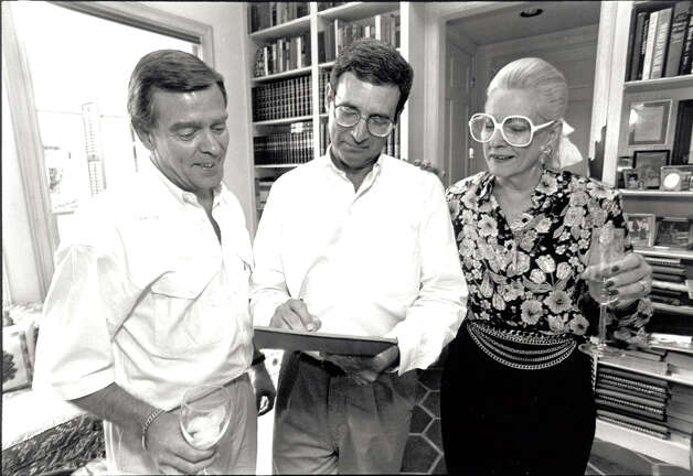 From left, Jerry Conn, Jimmy Simmons and Betty Greenburg in 1992. Enterprise file photo
