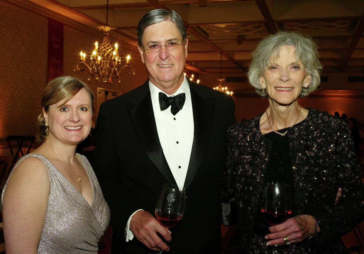 Debbie Callihan-Dingle (from left), Richard Becker MD and Bunny Becker