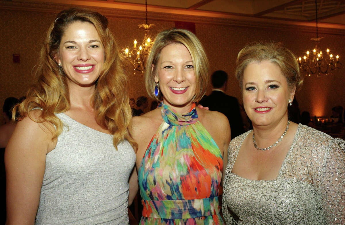 Janet Peavy (from left), Brooke Meabon and Gretchen Kragh