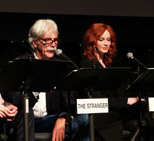 Sam Elliott – The Stranger -- pictured with Christina Hendricks on March 29, 2012 in Los Angeles. Photo: Alexandra Wyman, . / 2012 WireImage