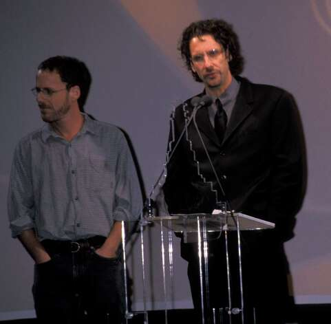 Joel and Ethan Cohen – directors and writers -- pictured Sept. 22, 1999 at Pier 60 at Chelsea Piers in New York. Photo: Ron Galella, Ltd., . / 1999 Ron Galella, Ltd.