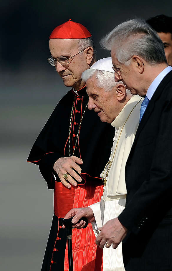 Cardinal Tarcisio Bertone, the Pope's right-hand-man, gets 7/2 odds. Photo: FILIPPO MONTEFORTE / 2012 AFP