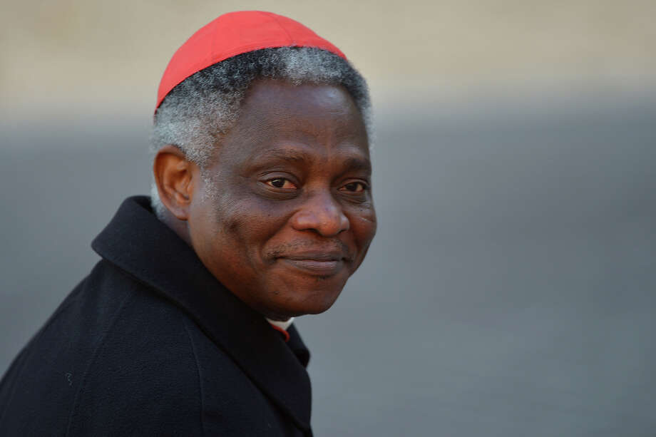 Odds maker PaddyPower.com is taking 11/4 odds that Cardinal Peter Kodwo Appiah Turkson will emerge victorious when the white smoke clears. Photo: VINCENZO PINTO / 2013 AFP