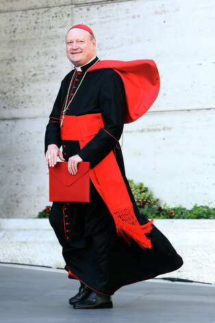 Italian cardinal Gianfranco Ravasi looks dapper in a cape and comes in at 14/1. Photo: Franco Origlia / 2013 Getty Images