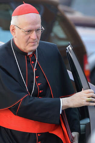 Hungarian cardinal Peter Erdo is a 14/1 bet. Photo: VINCENZO PINTO / 2013 AFP