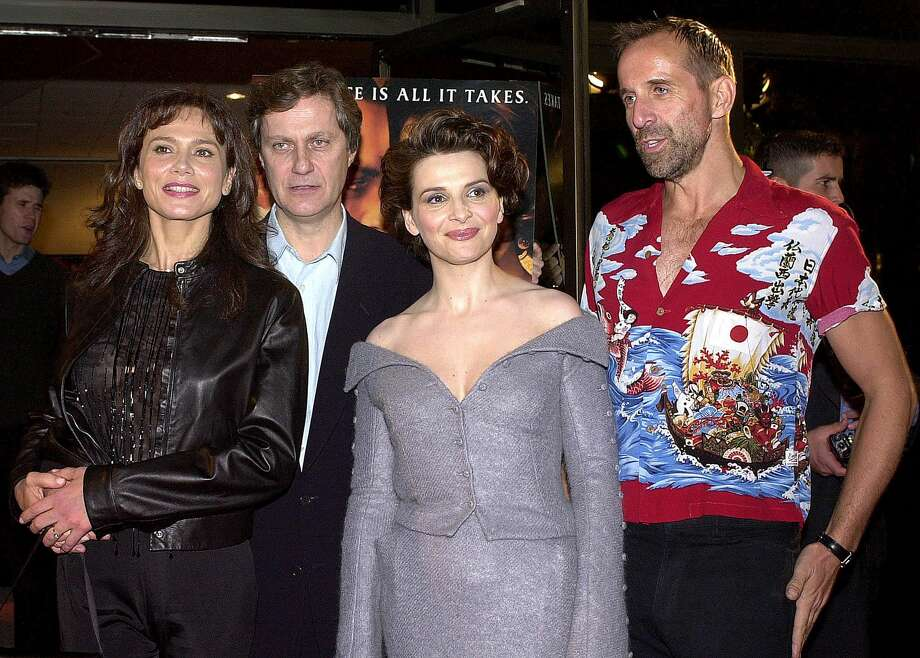 Peter Stormare – Uli, aka Karl Hungus -- pictured on right with actress Lena Olin, left, Swedish director Lasse Hallstrom and actress Juliette Binoche, Dec. 11, 2000. Photo: LUCY NICHOLSON, . / AFP