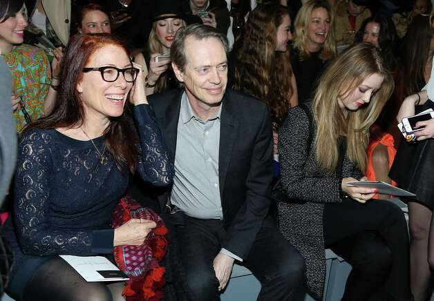 "Steve Buscemi – Theodore Donald ""Donny"" Kerabatsos -- pictured with wife Jo Andres on Feb. 13, 2013 in New York. Photo: Rob Kim, . / 2013 Rob Kim"