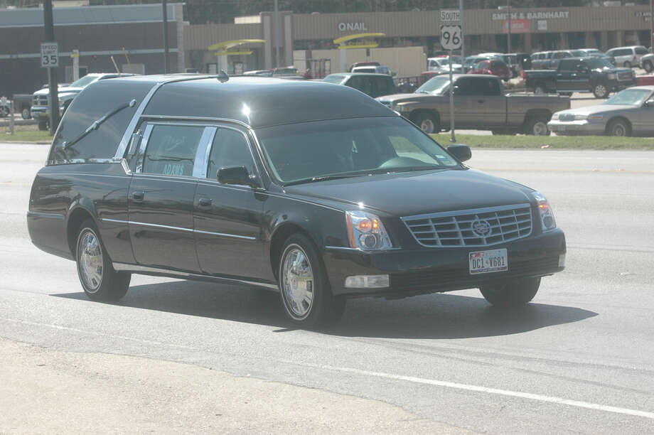 Funeral procession for long-time Jasper County lawman Tommy Robinson. Photo: Jimmy Galvan