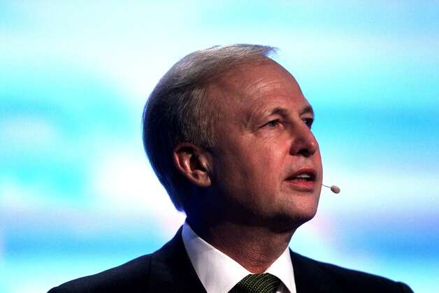 BP Executive Bob Dudley speaks at IHS CERAWeek 2013. (Johnny Hanson/Houston Chronicle)