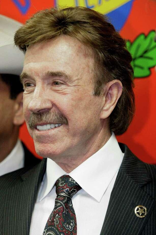 Actor/Texas Ranger Chuck Norris Photo: Tony Gutierrez, AP / AP
