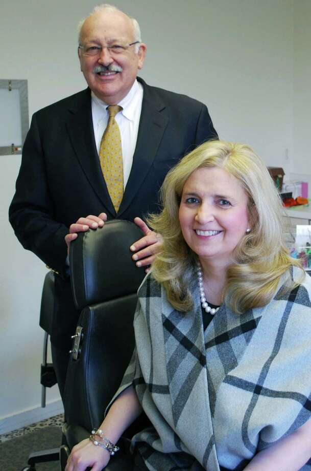 Drs. Allan S. Phillips, D.D.S. and Katherine M. Lambert, D.M.D. specialize in orthodontic treatment for children and adults at Phillips and Lambert Orthodontics. The business has offices in New Milford, Ridgefield, Brookfield, Wilton and Bethel. Photo: Deborah Rose