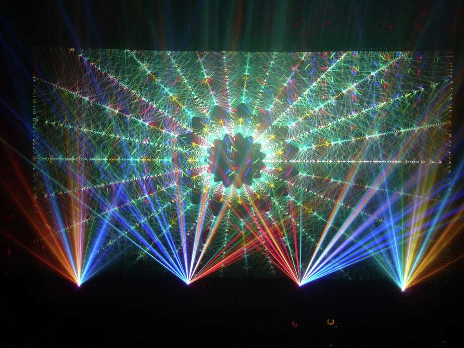 The Lutcher Theater will present Laser Spectacle at  8 p.m. March 15 in the theater parking lot, 707 Main St., Orange. Photo: Laser Spectacle