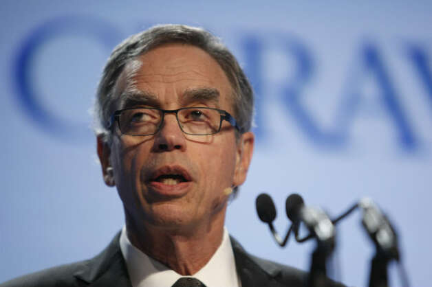 Joe Oliver, Canada's minister of natural resources, speaks at the IHS CERAWeek energy conference.