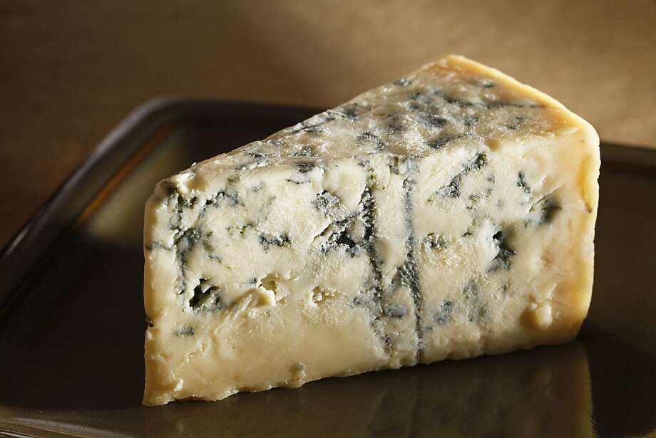 Point Reyes Farmstead's moist Bay Blue is modeled on an English Stilton. Photo: Craig Lee, Special To The Chronicle