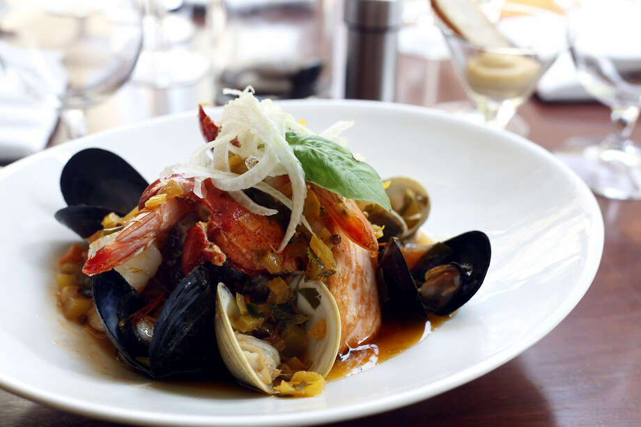 Dishes such as Close-to-Bouillabaisse at Biga on the Banks have earned owner/chef Bruce Auden national accolades. Photo: Express-News File Photo