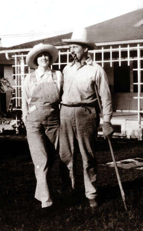 Myrtle and Walter Schreiner. When they married in 1922, neither knew what an important role she would play at the YO Ranch. Photo: Courtesy Of Joe Herring Jr. / Courtesy of Joe Herring Jr.
