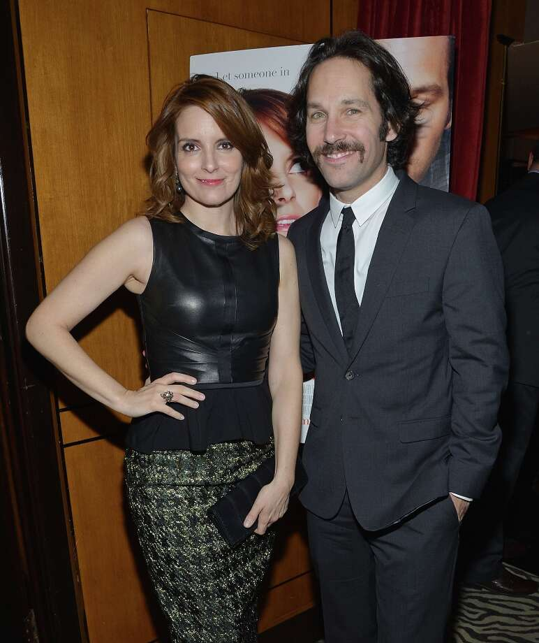 NEW YORK, NY - MARCH 05:  Actors Tina Fey (L) and Paul Rudd attend Admission New York Premiere After Party at Monkey Bar on March 5, 2013 in New York City. Photo: Mike Coppola, Getty Images / 2013 Getty Images