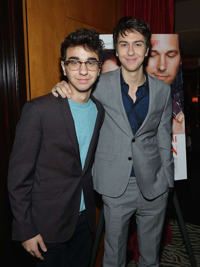 NEW YORK, NY - MARCH 05:  Alex Wolff (L) and Nat Wolff attend Admission New York Premiere After Party at Monkey Bar on March 5, 2013 in New York City. Photo: Mike Coppola, Getty Images / 2013 Getty Images