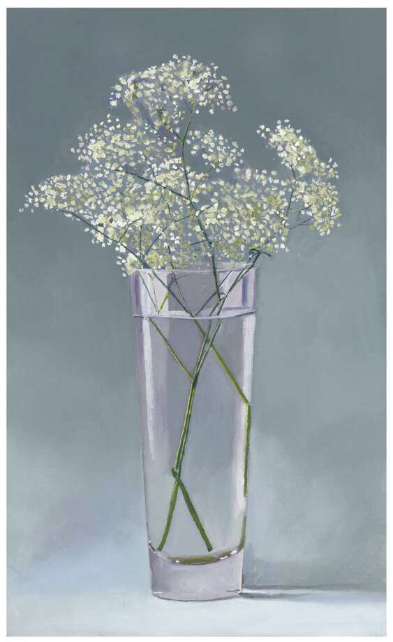 "Dan McCleary's ""Baby's Breath,"" oil on canvas. Photo: Texas Gallery"