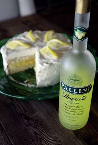 The Limoncello cake made by Carey Morgan uses a little bit of Limoncello Liqueur. Photo: Cynthia Esparza, San Antonio Express-News / San Antonio Express-News