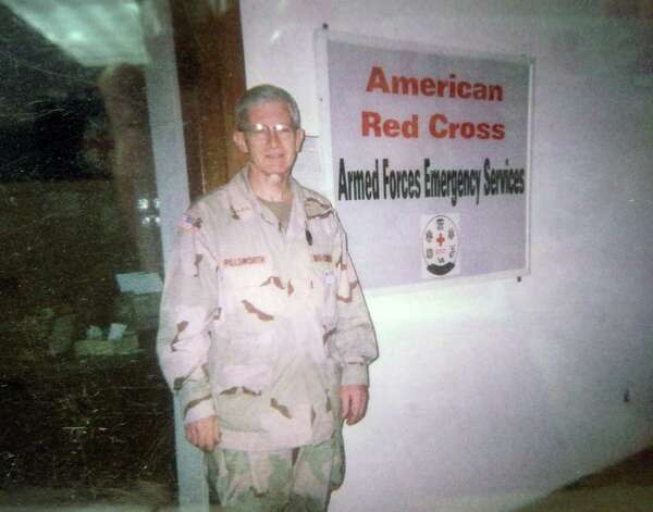 Red Cross worker Tom Pillsworth in Iraq in 2005.