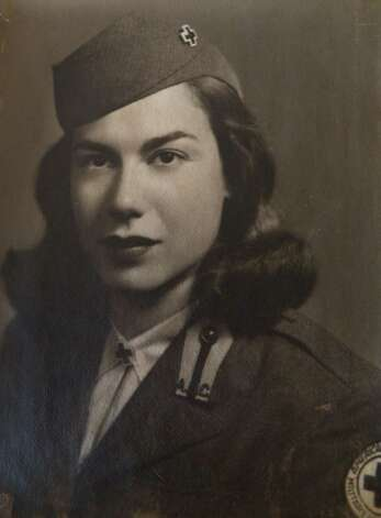 Red Cross worker Shirley Sheriff of Colonie just after World War II.