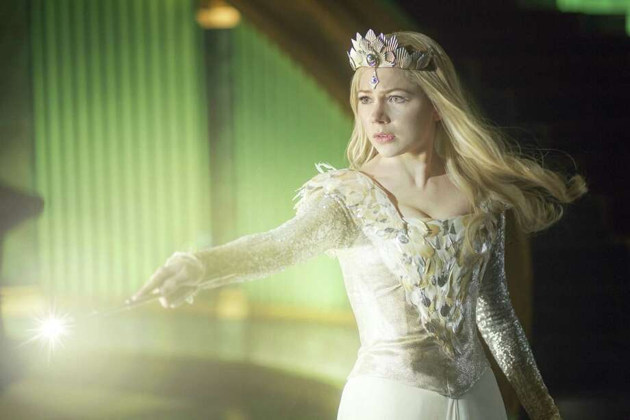 "Michelle Williams is Glinda in ""Oz the Great and Powerful,"" which takes place 30 years before Dorothy arrives on the scene. Photo: Walt Disney Pictures"