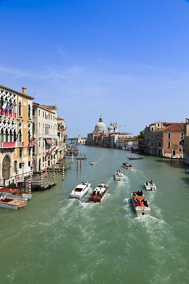The Grand Canal in Venice from Ponte dell'Accademia. Photo: Kimberley Coole, Lonely Planet Images