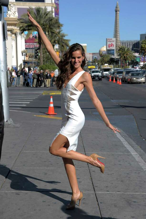 "Finally, Sin City even has a ""Swimsuit Blvd."" Here,  Sports Illustrated swimsuit model Izabel Goulart attends the dedication of said boulevard in 2011.  (Photo by Michael Loccisano/Getty Images for Sports Illustrated) Photo: Michael Loccisano, Multiple / 2011 Getty Images"
