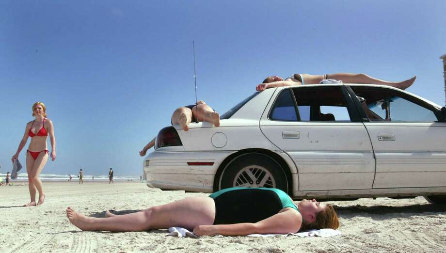 "As spring break came to an end in 2004, the city tried to rid itself of the image of years past with a new campaign called ""It's All About Respect"" which is trying to curb the out of control partying that was indicative of spring breaks in Daytona Beach. Good luck. (Photo by Joe Raedle/Getty Images) Photo: Joe Raedle, Multiple / 2004 Getty Images"