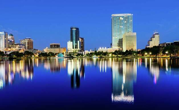 Here's the Orlando skyline. Photo: Lightkey, Multiple / (c) lightkey