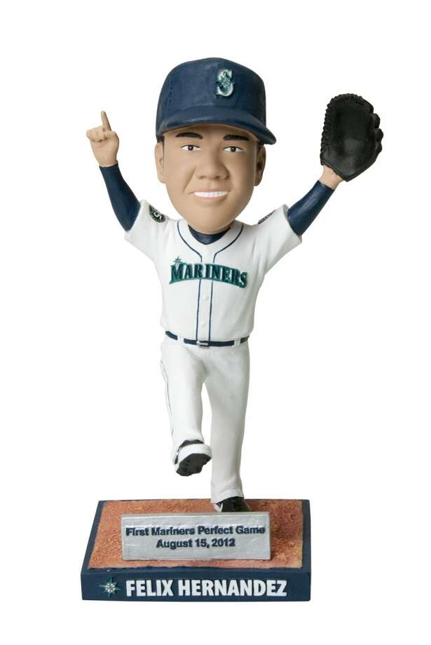 Saturday, May 25: Felix Hernandez ''perfect game'' bobble-head dollsTo commemorate King Felix's perfect game last season, the M's will give away these bobble-heads to the first 20,000 fans who come to this game against the Rangers.