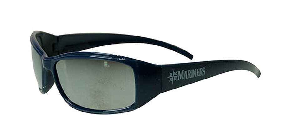 Sunday, May 26: Mariners kids' sunglassesFor one of the team's Little League Days, all kids 14 or younger will get these Mariners sunglasses before the game against the Rangers.
