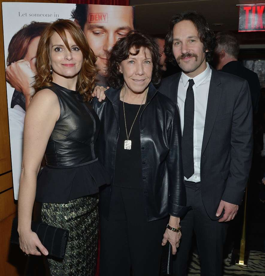 NEW YORK, NY - MARCH 05:  Actors (L-R) Tina Fey, Lily Tomlin, Paul Rudd attend Admission New York Premiere After Party at Monkey Bar on March 5, 2013 in New York City. Photo: Mike Coppola, Getty Images / 2013 Getty Images
