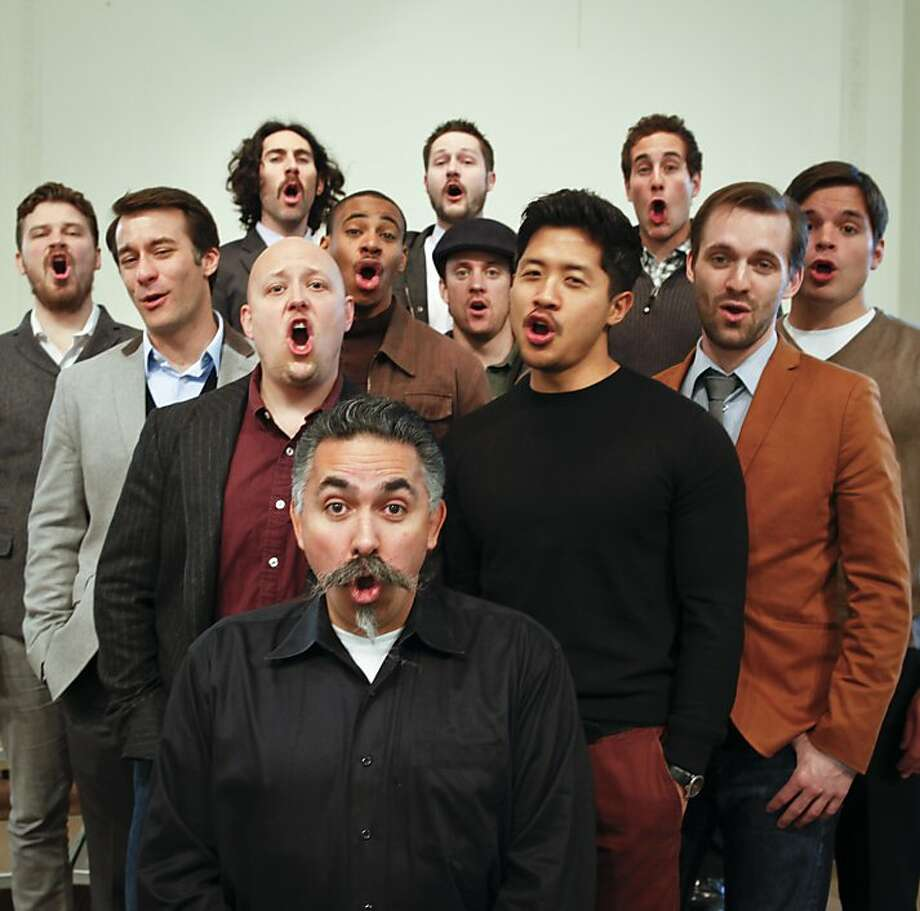 "Chanticleer started as eight to 10 voices singing songs of the Renaissance. Former member Philip Wilder calls it ""the Cadillac of choral organizations, a brand that everyone knows."" Photo: Russell Yip, The Chronicle"