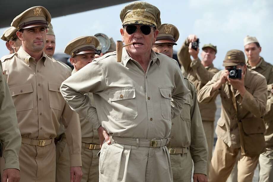 "Tommy Lee Jones stars as Gen. Douglas MacArthur in ""Emperor,"" about Japan's transition after World War II. Photo: Kirsty Griffin, Roadside Attractions"