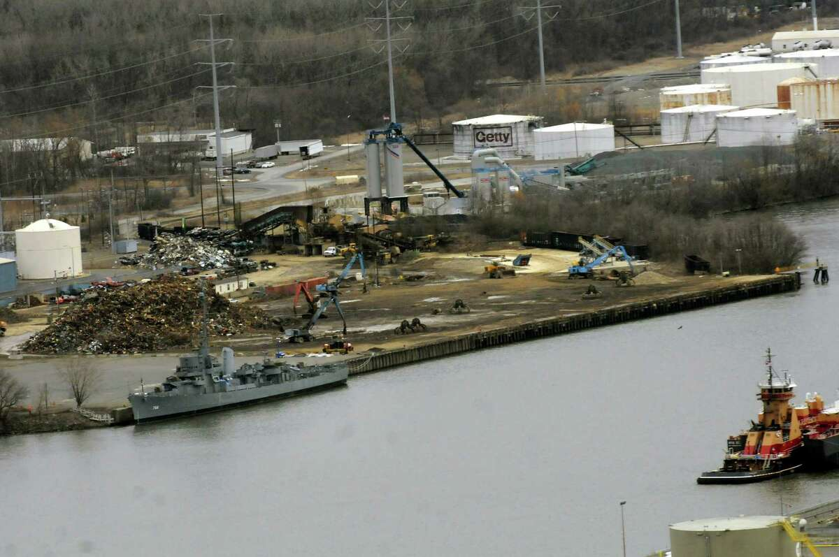 View of the Port of Rensselaer from the Corning Tower on Wednesday, March 6, 2013, in Albany, N.Y. (Cindy Schultz / Times Union)
