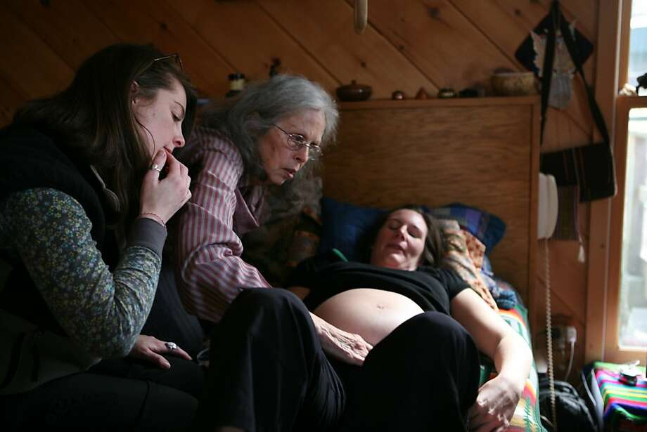 "Ina May Gaskin and the other midwives of the Farm in Tennessee are the focus in ""Birth Story."" Photo: Sara Lamm, Ghost Robot"