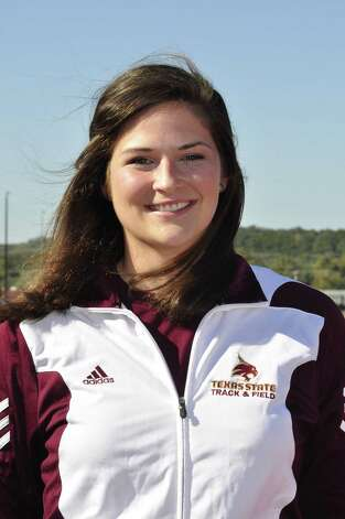 Kelsey Titzman, Texas State track and field: The senior from Poth was named the Western Athletic Conference women's field Athlete of the Year. Photo: Courtesy Photo