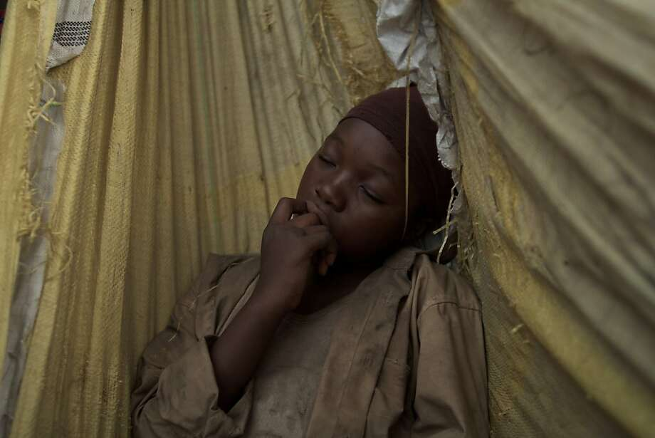 "Rachel Mwanza is the pre-teen child soldier in Africa in Kim Nguyen's ""War Witch."" Photo: Tribeca Film"